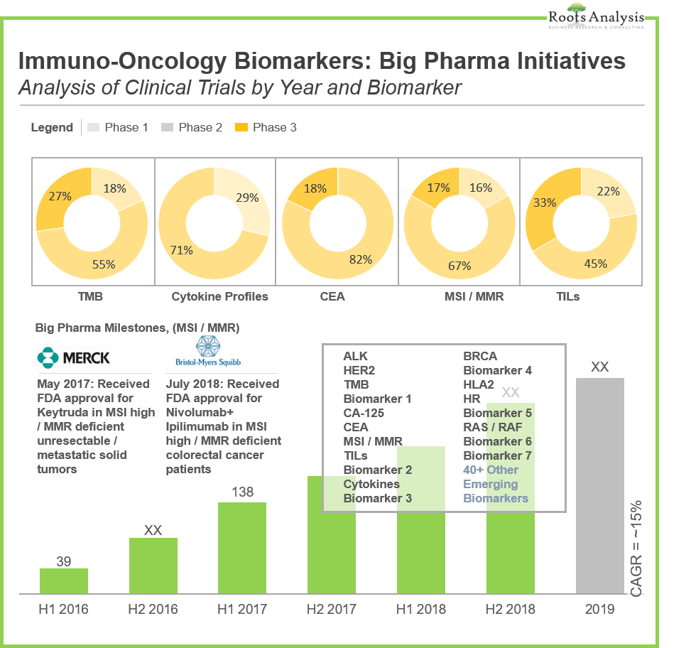 Immuno-Oncology Biomarkers: Big Pharma Initiatives