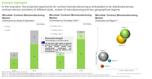 Companies Involved in Microbial Contract Biomanufacturing