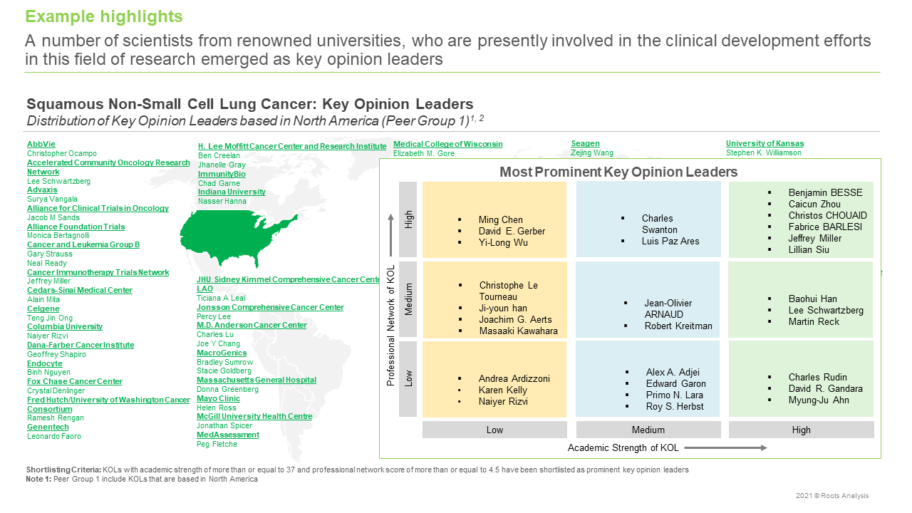 Squamous-NSCLC-Market-Key-Opinion-Leaders