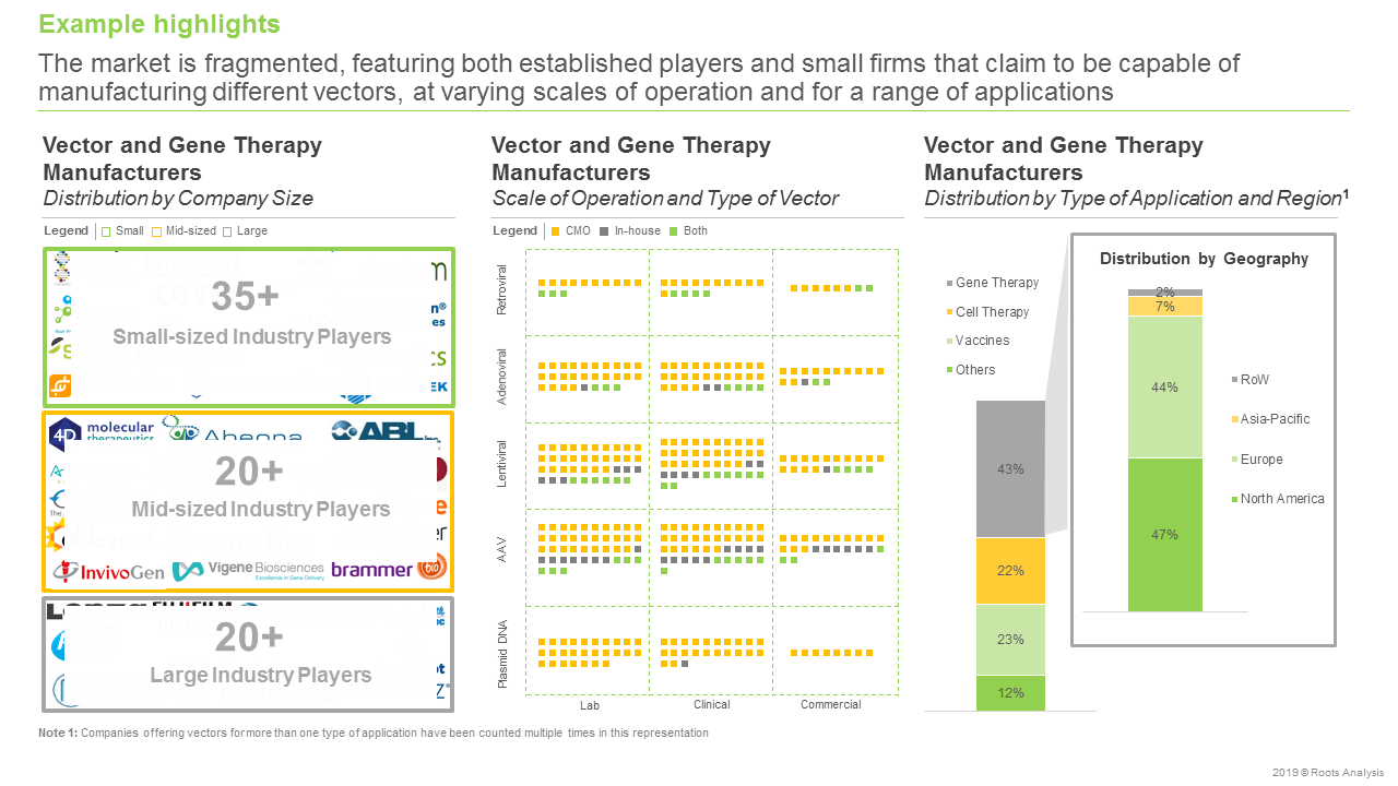 Vector and Gene Therapy Manufacturers-Manufacturing different vectors